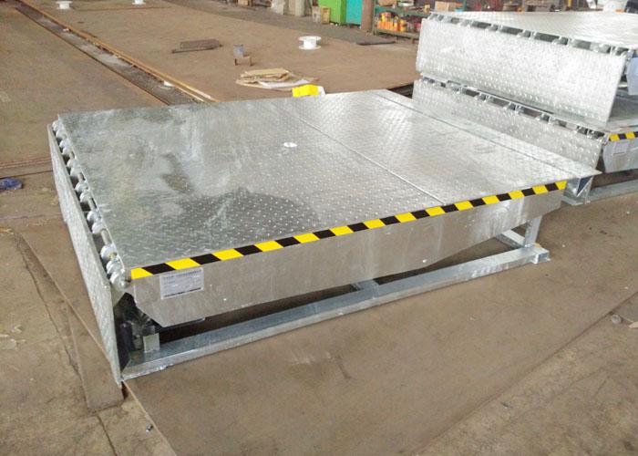 Hot dip galvanized dock leveler - Buy Galvanized Dock