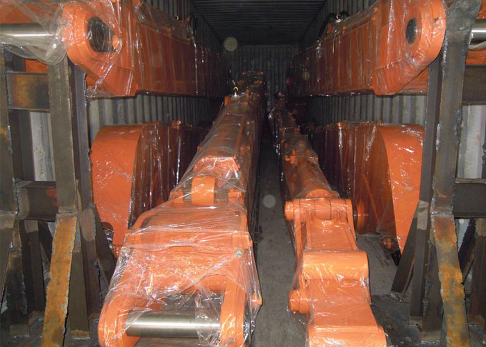 Hitachi ZX200 15.5m long reach